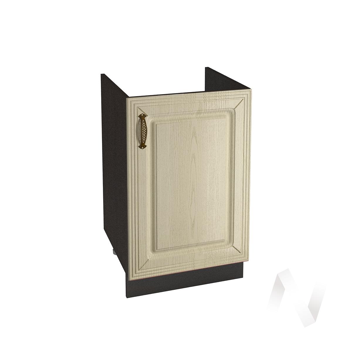 """Кухня """"Изабель"""": Шкаф нижний под мойку 500, ШНМ 500 (корпус венге)"""