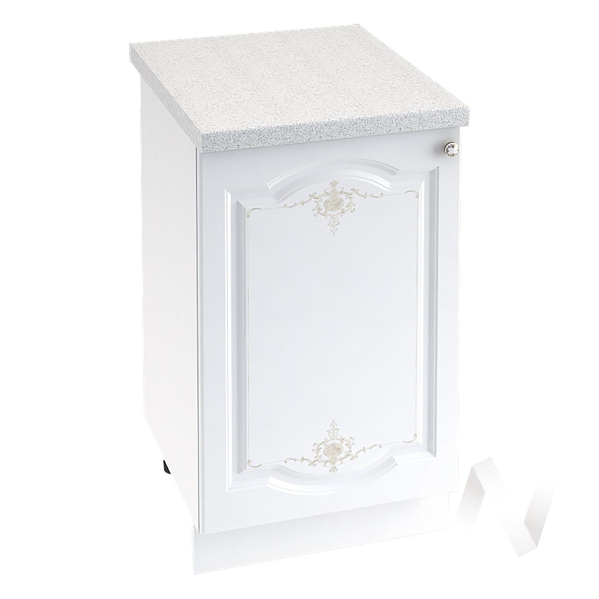 "Кухня ""Шарлиз"": Шкаф нижний 500, ШН 500 (корпус белый)"