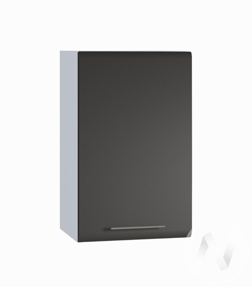 "Кухня ""Люкс"": Шкаф верхний 400, ШВ 400 (Шелк венге/корпус белый)"
