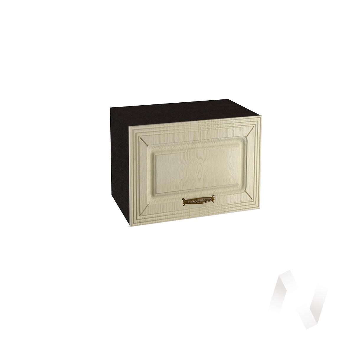 """Кухня """"Изабель"""": Шкаф верхний горизонтальный 500, ШВГ 500 (корпус венге)"""