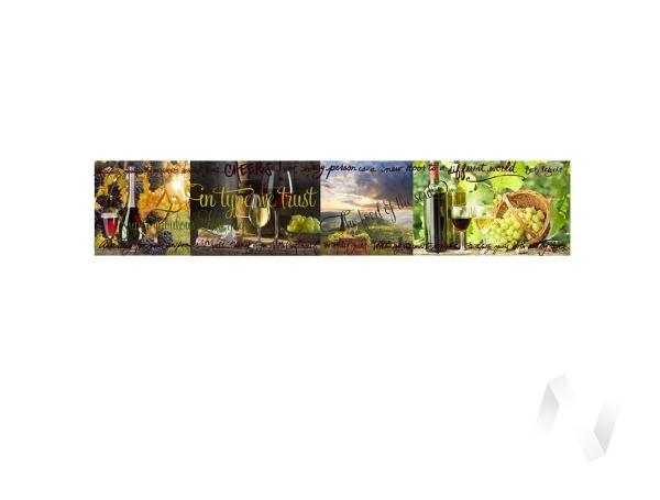 Панель декоративная ХДФ 610*2440*3,2 Вино (75)
