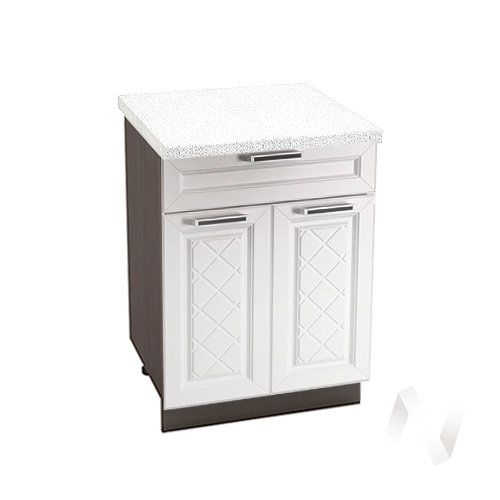 """Кухня """"Вена"""": Шкаф нижний с ящиком 600, ШН1Я 600 М (корпус венге)"""