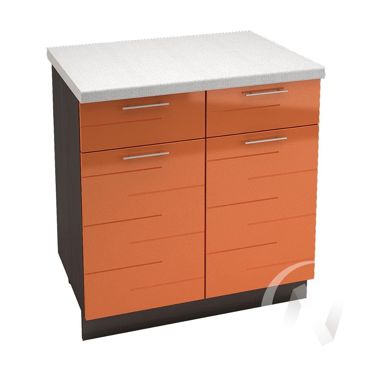 "Кухня ""Техно"": Шкаф нижний с ящиками 800, ШН1Я 800 (корпус венге)"