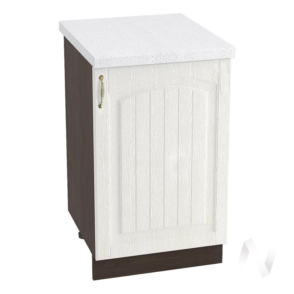 """Кухня """"Верона"""": Шкаф нижний 500 правый, ШН 500 (ясень золотистый/корпус венге)"""