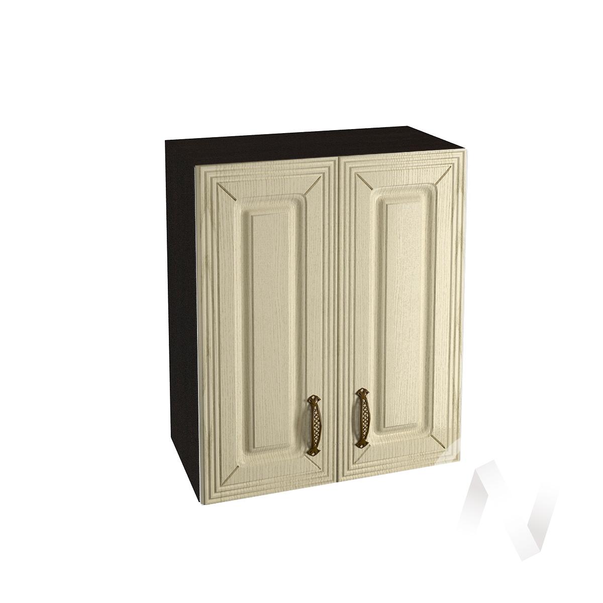 """Кухня """"Изабель"""": Шкаф верхний 600, ШВ 600 (корпус венге)"""