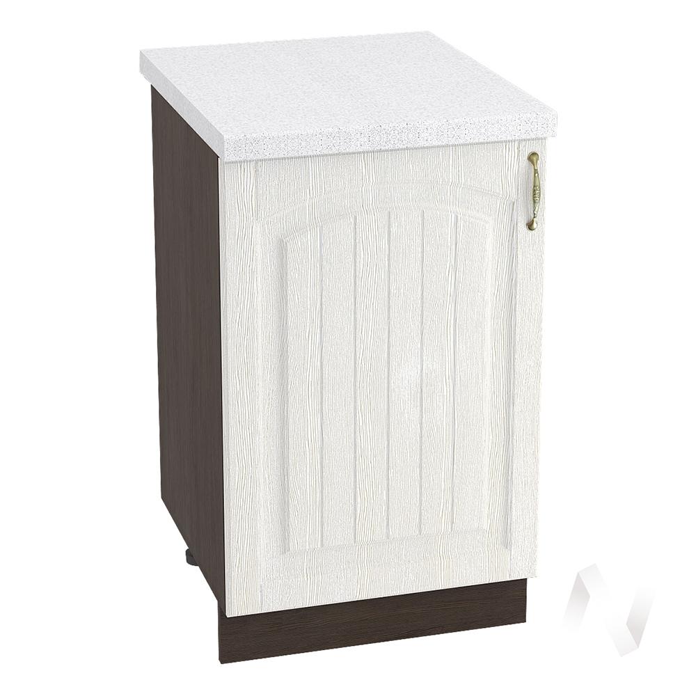 """Кухня """"Верона"""": Шкаф нижний 500 левый, ШН 500 (ясень золотистый/корпус венге)"""