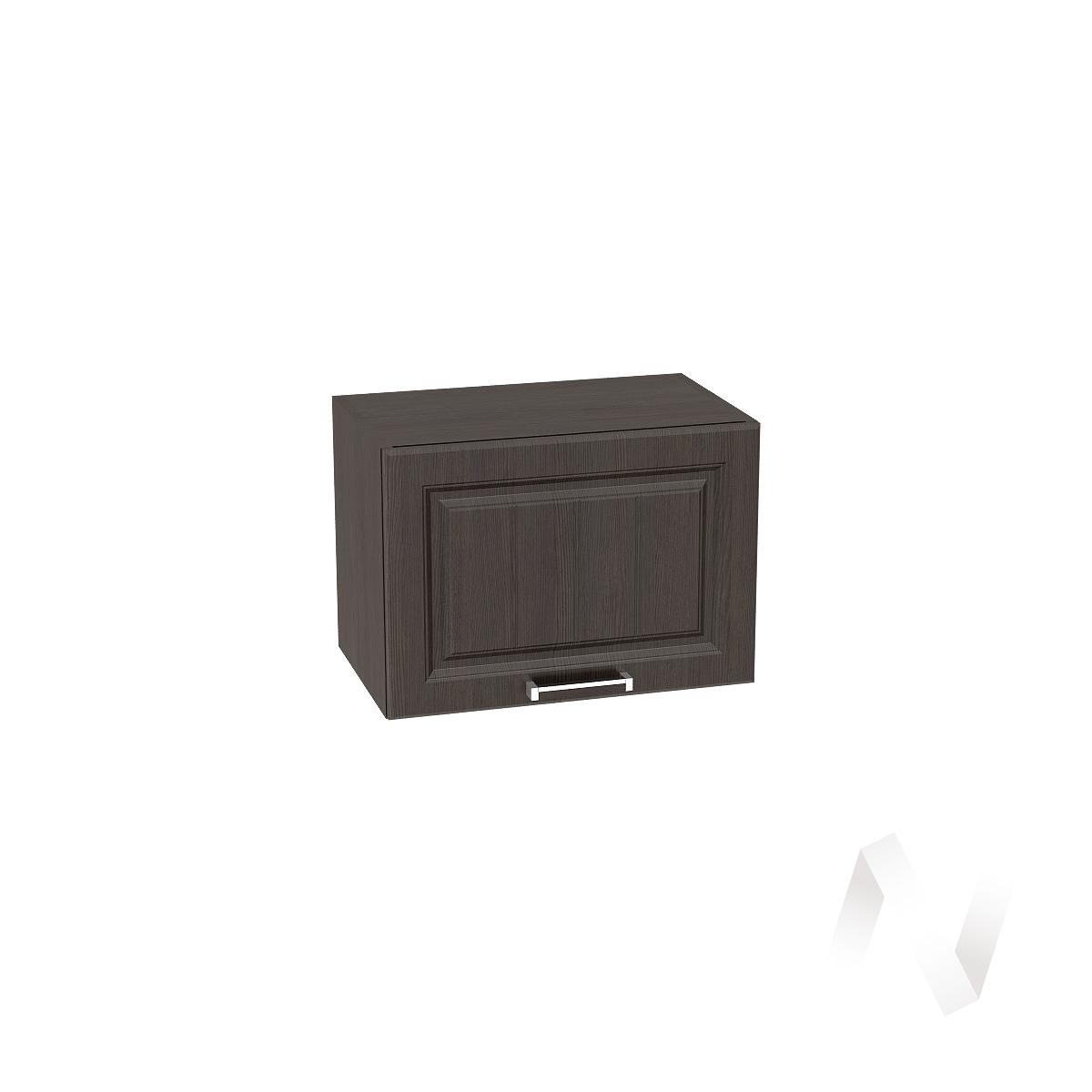 """Кухня """"Прага"""": Шкаф верхний горизонтальный 500, ШВГ 500 (венге/корпус венге)"""