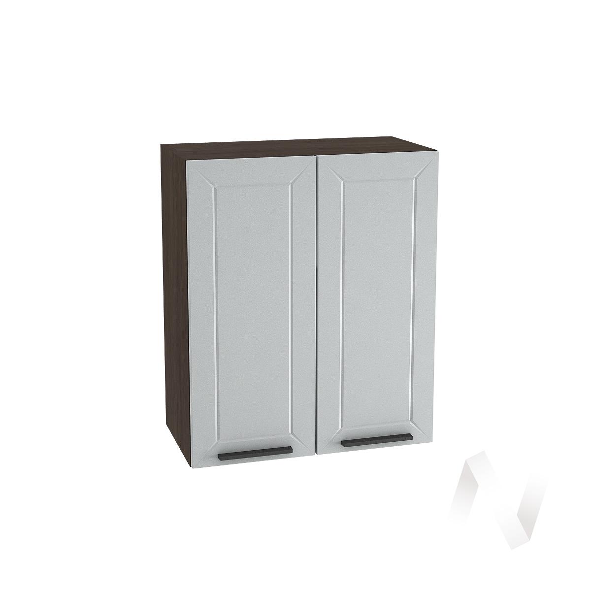 """Кухня """"Глетчер"""": Шкаф верхний 600, ШВ 600 (Гейнсборо Силк/корпус венге)"""