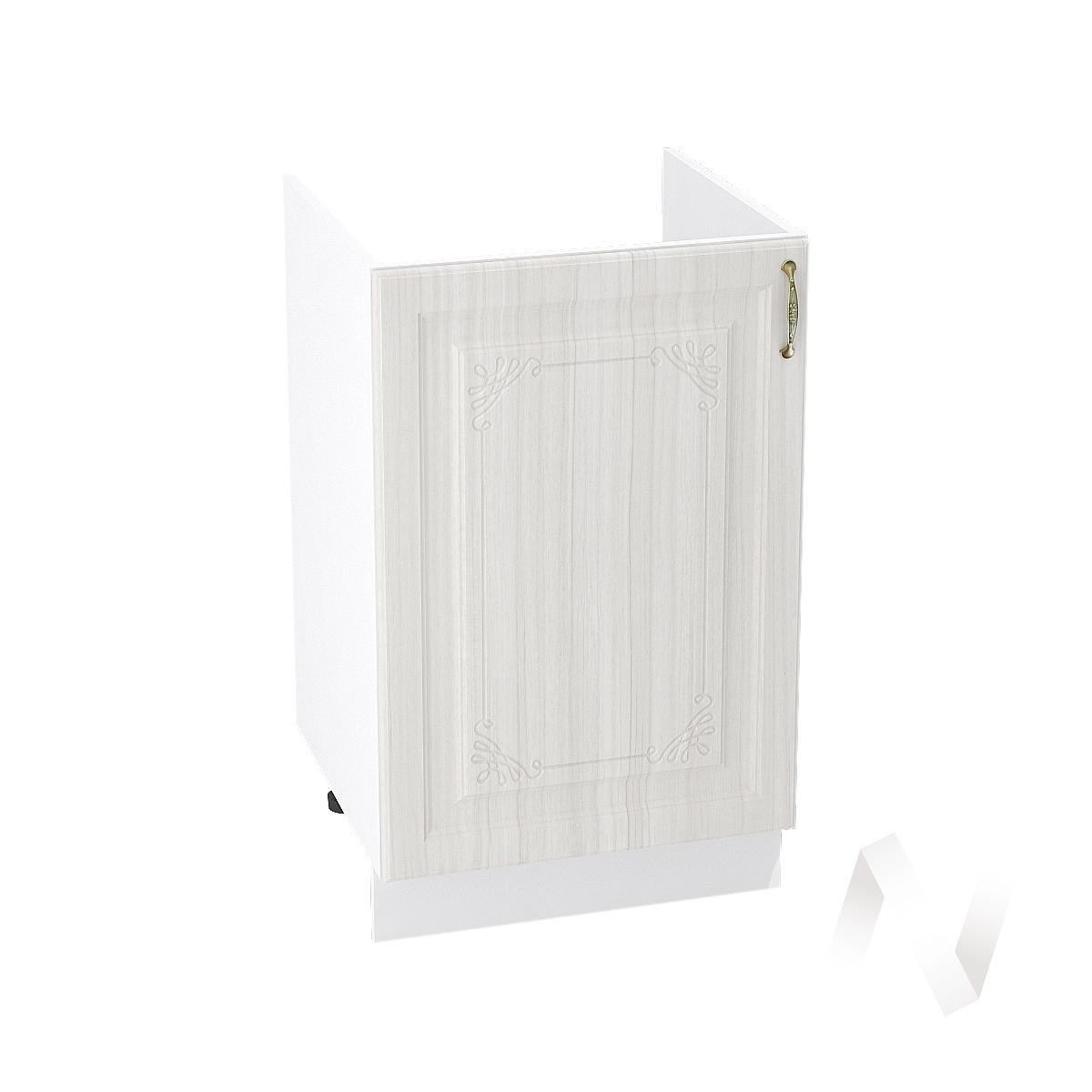 """Кухня """"Виктория"""": Шкаф нижний под мойку 500, ШНМ 500 (корпус белый)"""
