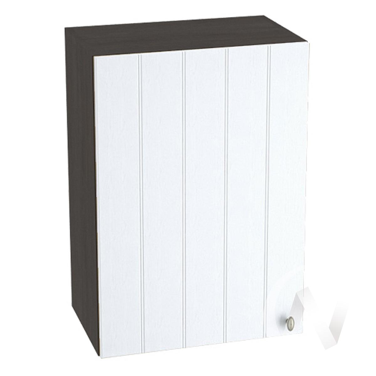 "Кухня ""Прованс"": Шкаф верхний 500, ШВ 500 (белое дерево/корпус венге)"