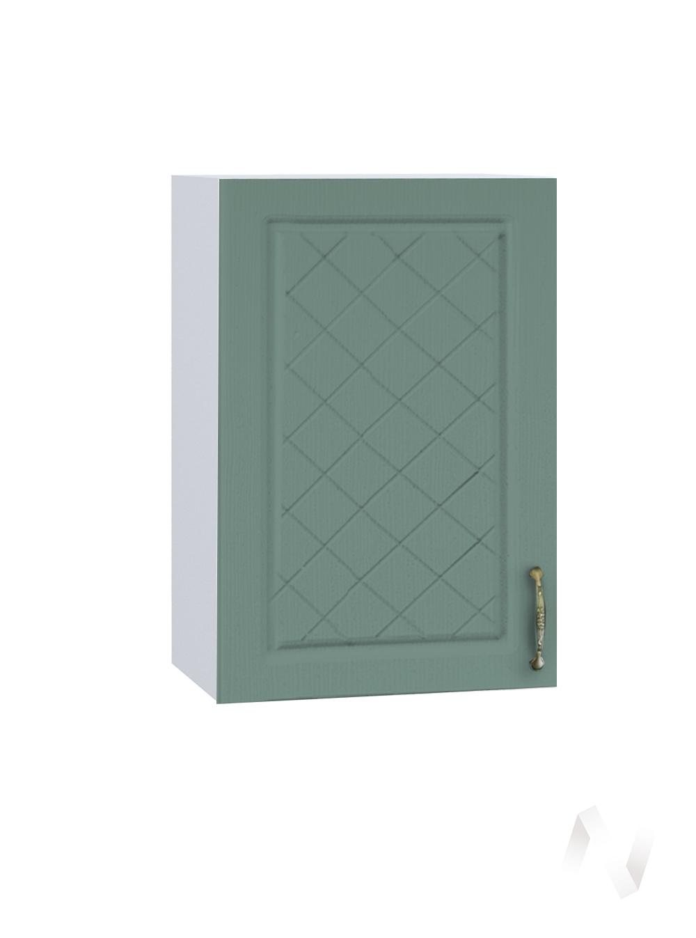 """Кухня """"Селена"""": Шкаф верхний 450, ШВ 450 (Дуб бирюзовый/корпус белый)"""