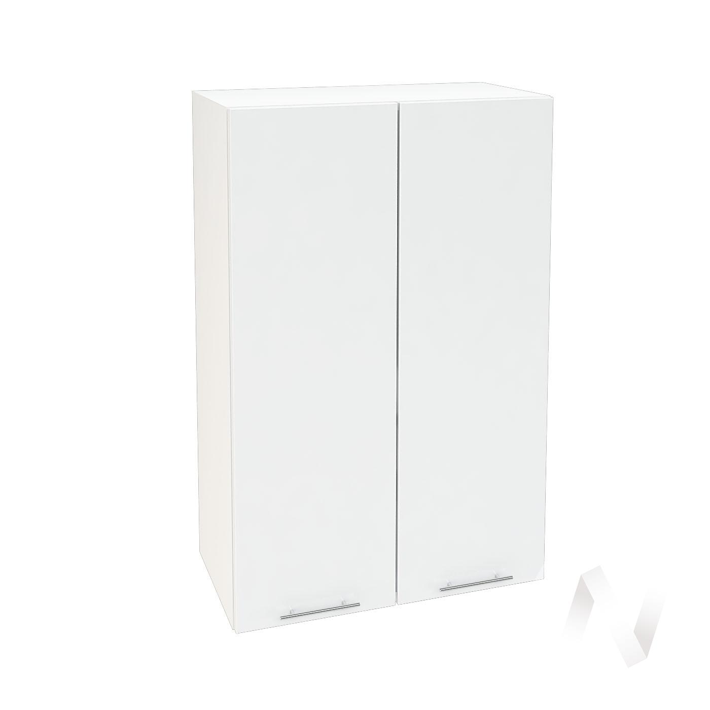 "Кухня ""Валерия-М"": Шкаф верхний 609, ШВ 609 (белый глянец/корпус белый)"