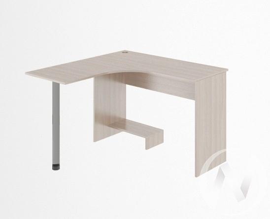 Стол угловой М12 Остин (ясень шимо светлый/белый)