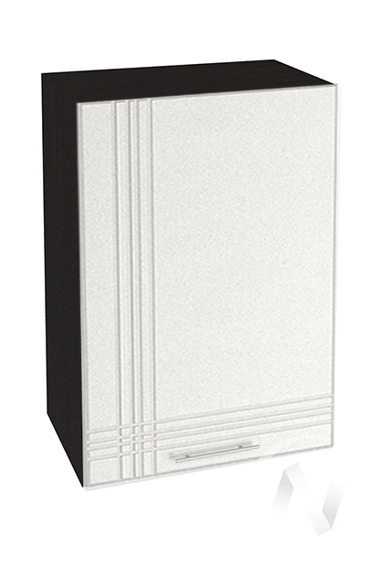 """Кухня """"Струна"""": Шкаф верхний 500, ШВ 500 (белый металлик/корпус венге)"""