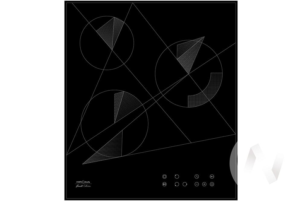 Электрическая варочная поверхность FIDATO 45 BL недорого в Томске — интернет-магазин авторской мебели Экостиль