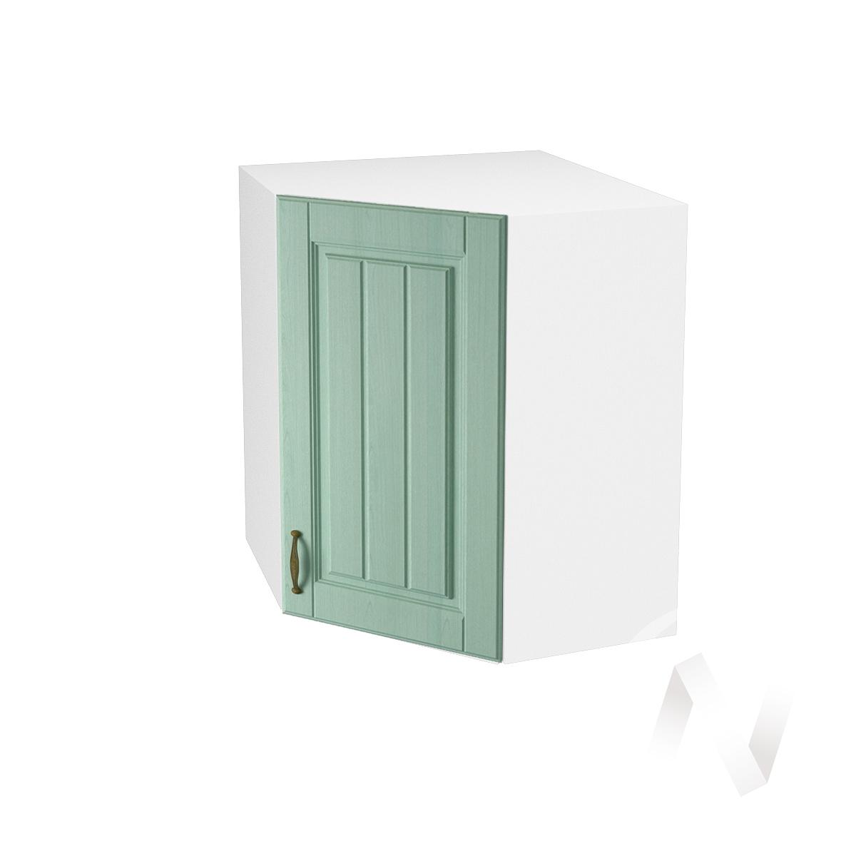 "Кухня ""Прованс"": Шкаф верхний угловой 590, ШВУ 590 (корпус белый)"
