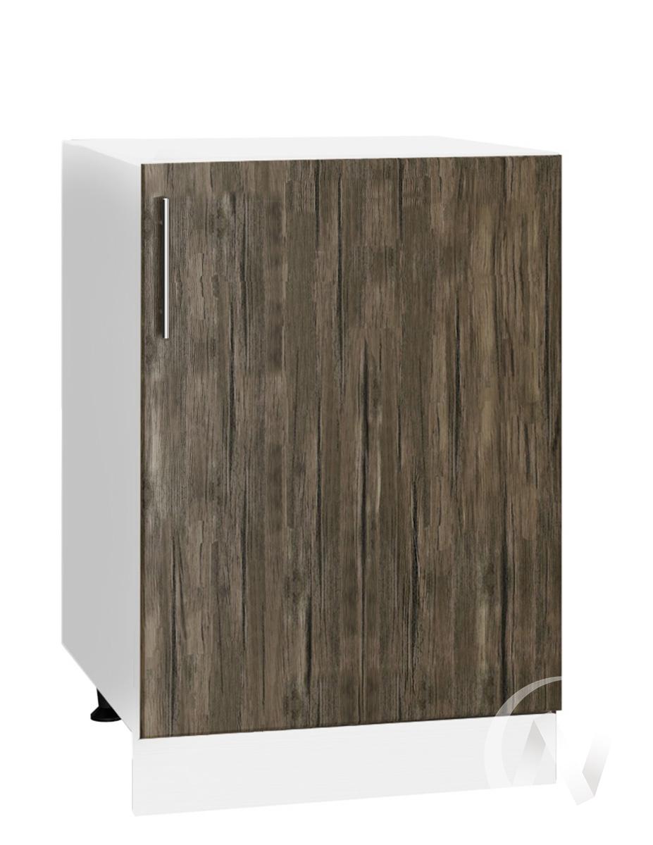 "Кухня ""Норден"": Шкаф нижний 500, ШН 500 (старое дерево/корпус белый)"