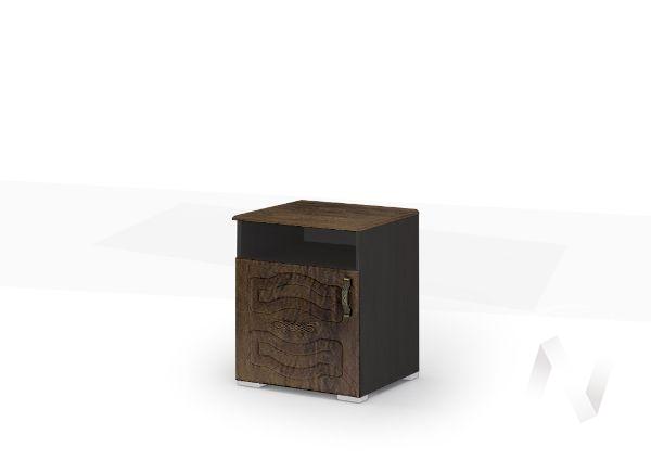 Тумба прикроватная ТБ 041 Спальня Медина (венге/дуб санремо шоколад)