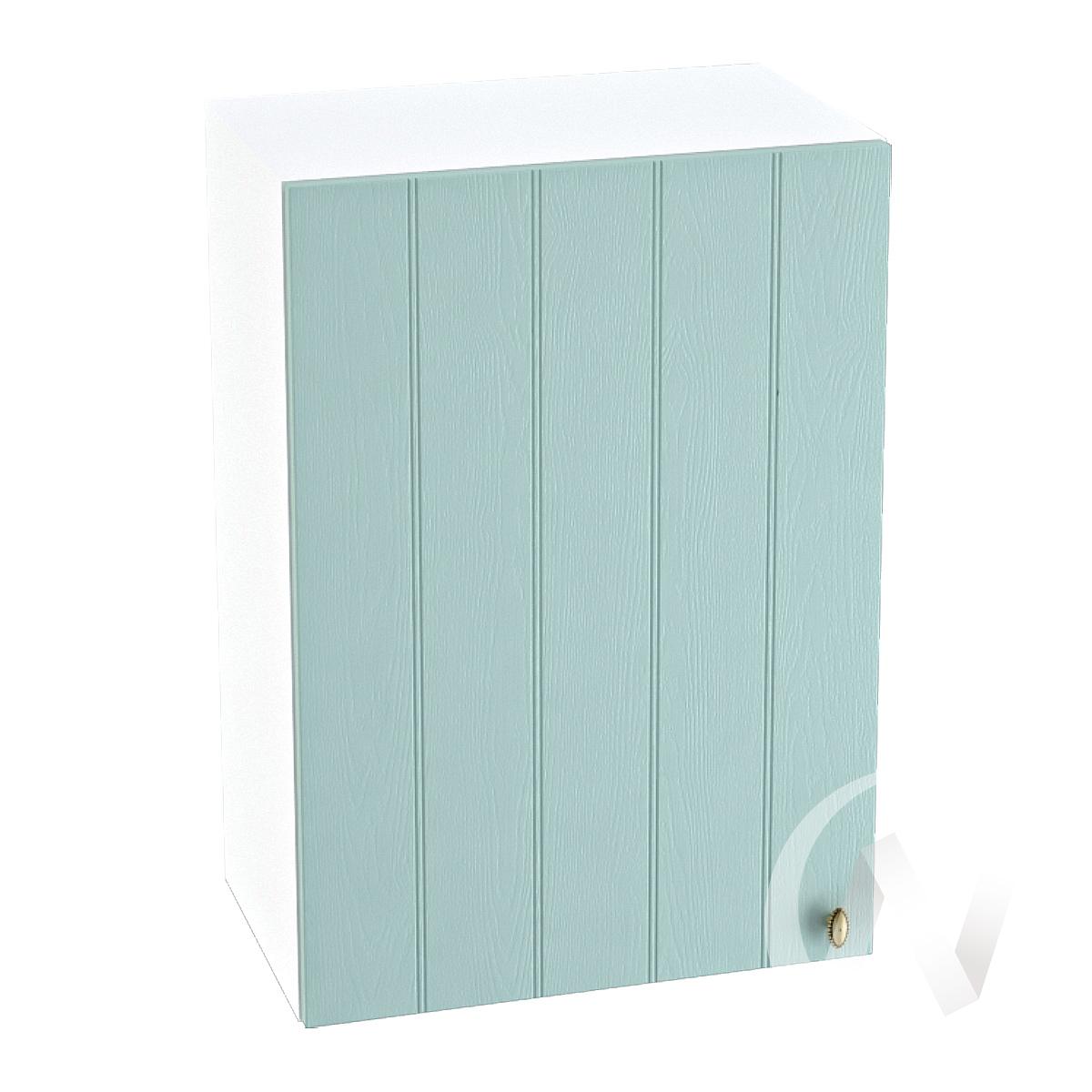 "Кухня ""Прованс"": Шкаф верхний 500, ШВ 500 (голубой/корпус белый)"