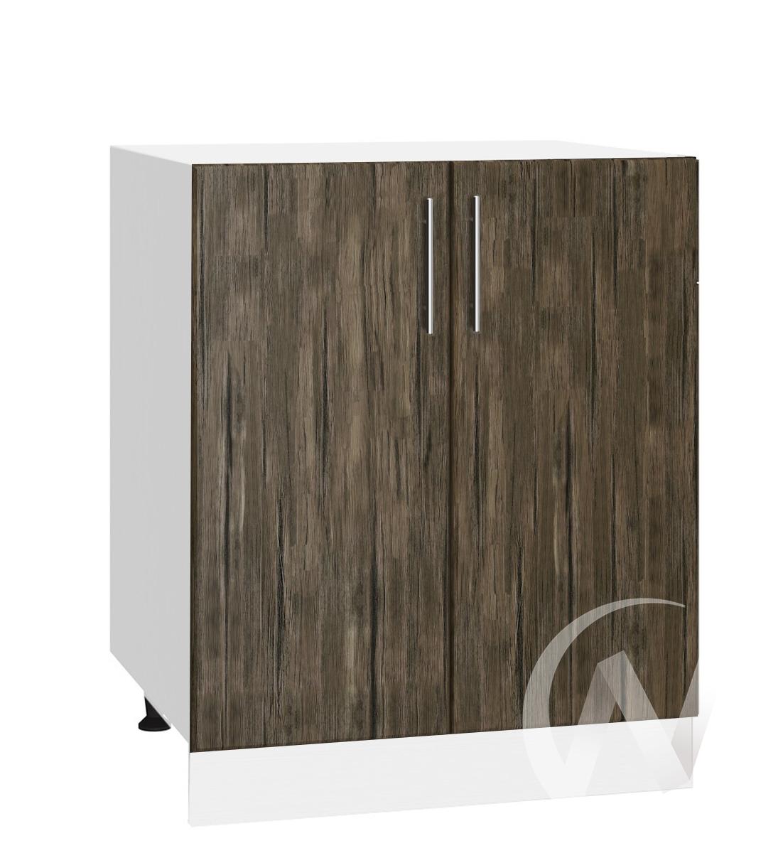 "Кухня ""Норден"": Шкаф нижний 600, ШН 600 (старое дерево/корпус белый)"