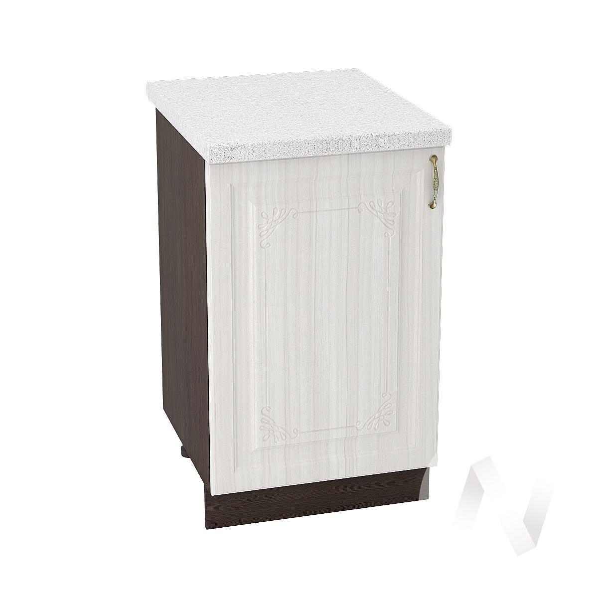 "Кухня ""Виктория"": Шкаф нижний 500, ШН 500 (корпус венге)"