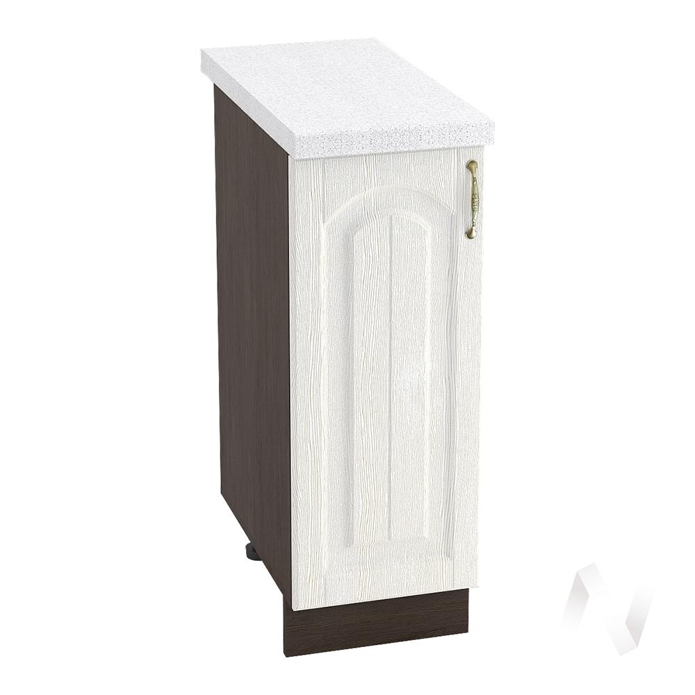 """Кухня """"Верона"""": Шкаф нижний 300 левый, ШН 300 (ясень золотистый/корпус венге)"""