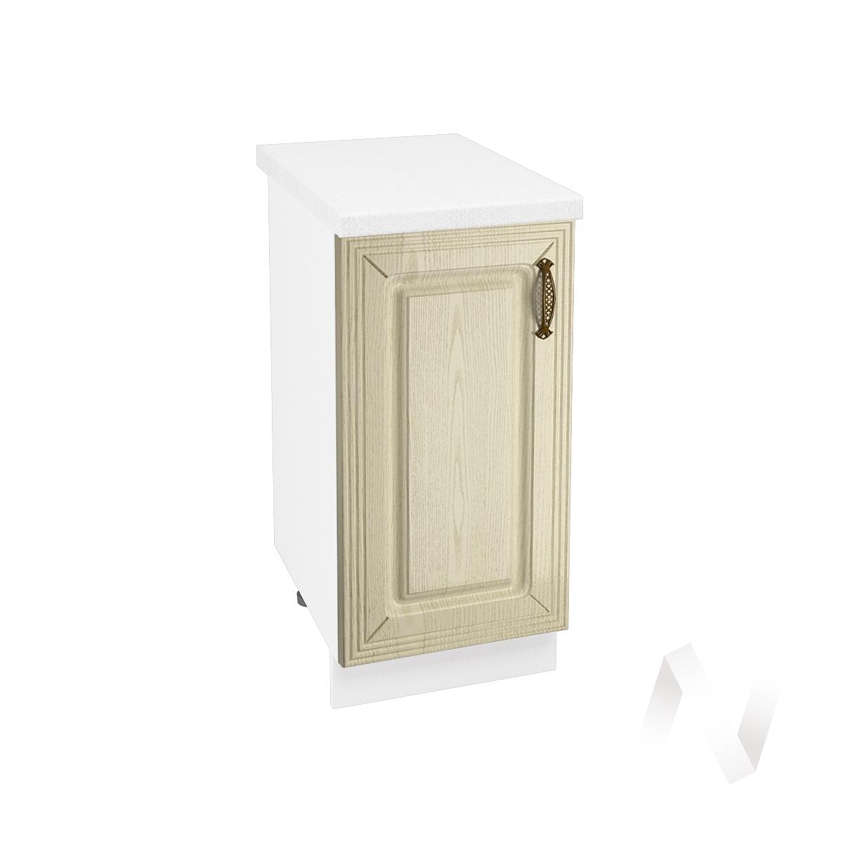 "Кухня ""Изабель"": Шкаф нижний 400, ШН 400 (корпус белый)"