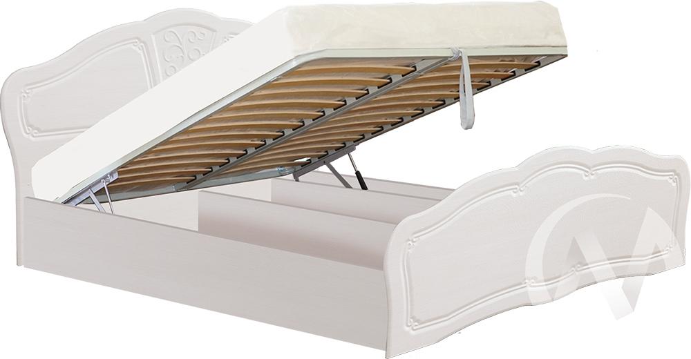 Тиффани Кровать 1,6 №2 с подъемным механизмом (бодега-рельеф пастель)