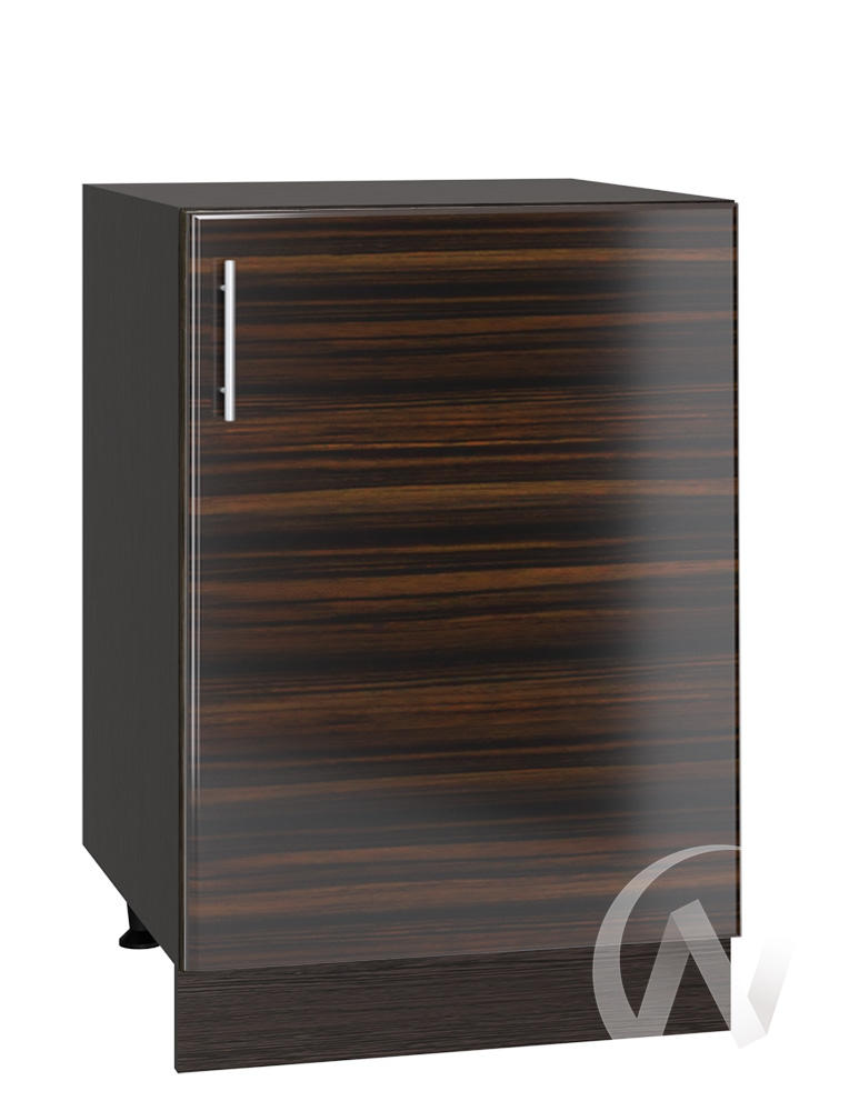 "Кухня ""Норден"": Шкаф нижний 500, ШН 500 (эбен/корпус венге)"