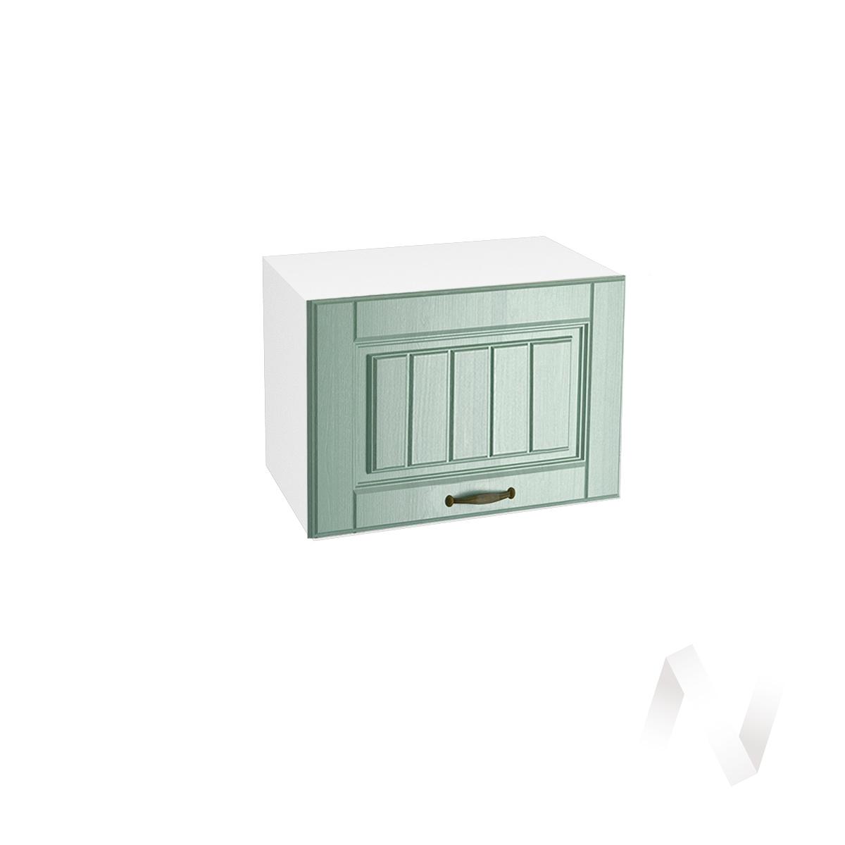 """Кухня """"Прованс"""": Шкаф верхний горизонтальный 500, ШВГ 500 (корпус белый)"""