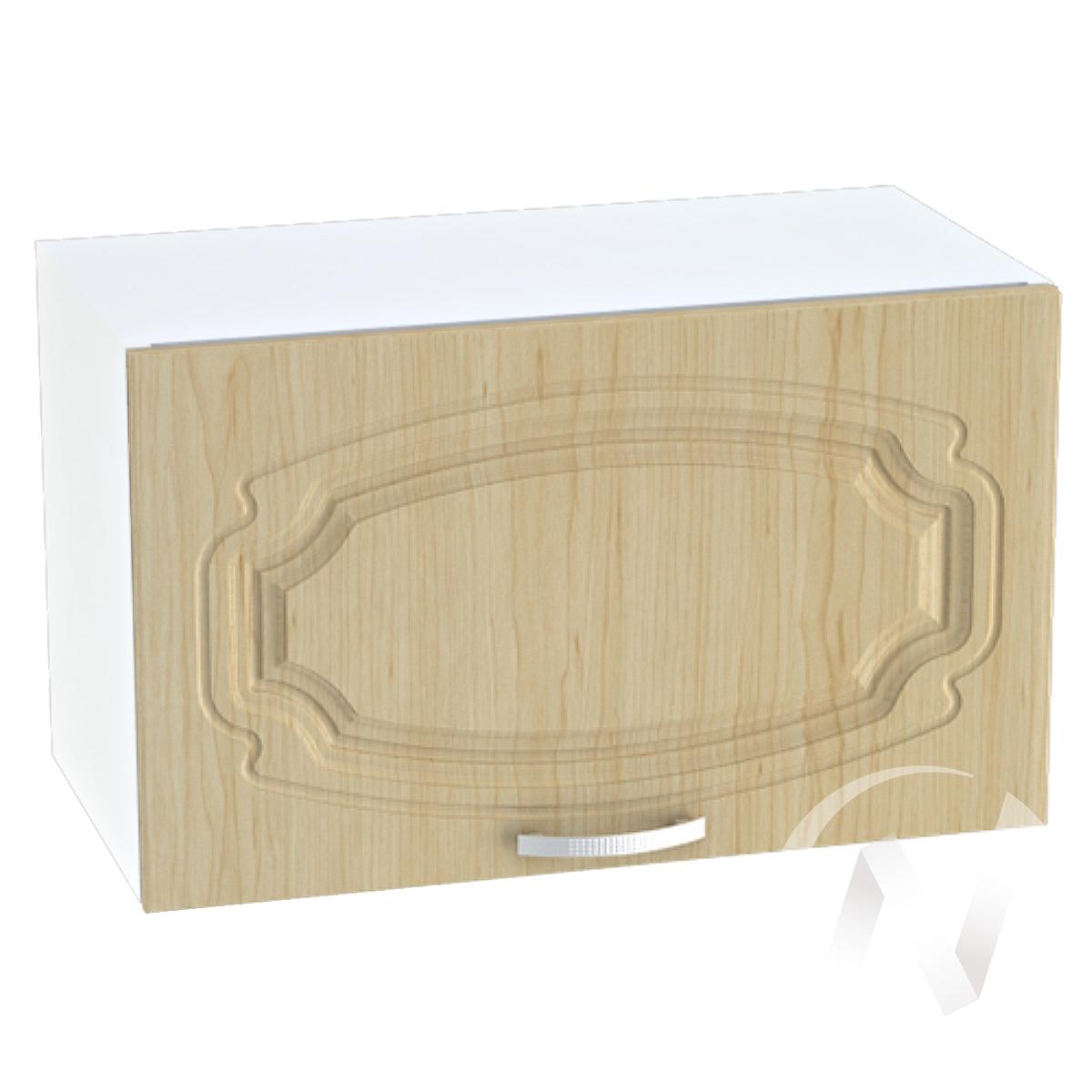 """Кухня """"Настя"""": Шкаф верхний горизонтальный 600, ШВГ 600 (Береза/корпус белый)"""