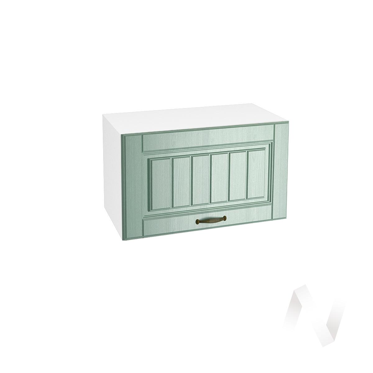 """Кухня """"Прованс"""": Шкаф верхний горизонтальный 600, ШВГ 600 (корпус белый)"""