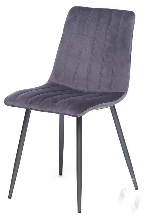 Стул Dublin (Velutto 19/металлокаркас черный) комплект 2 шт.  в Томске — интернет магазин МИРА-мебель
