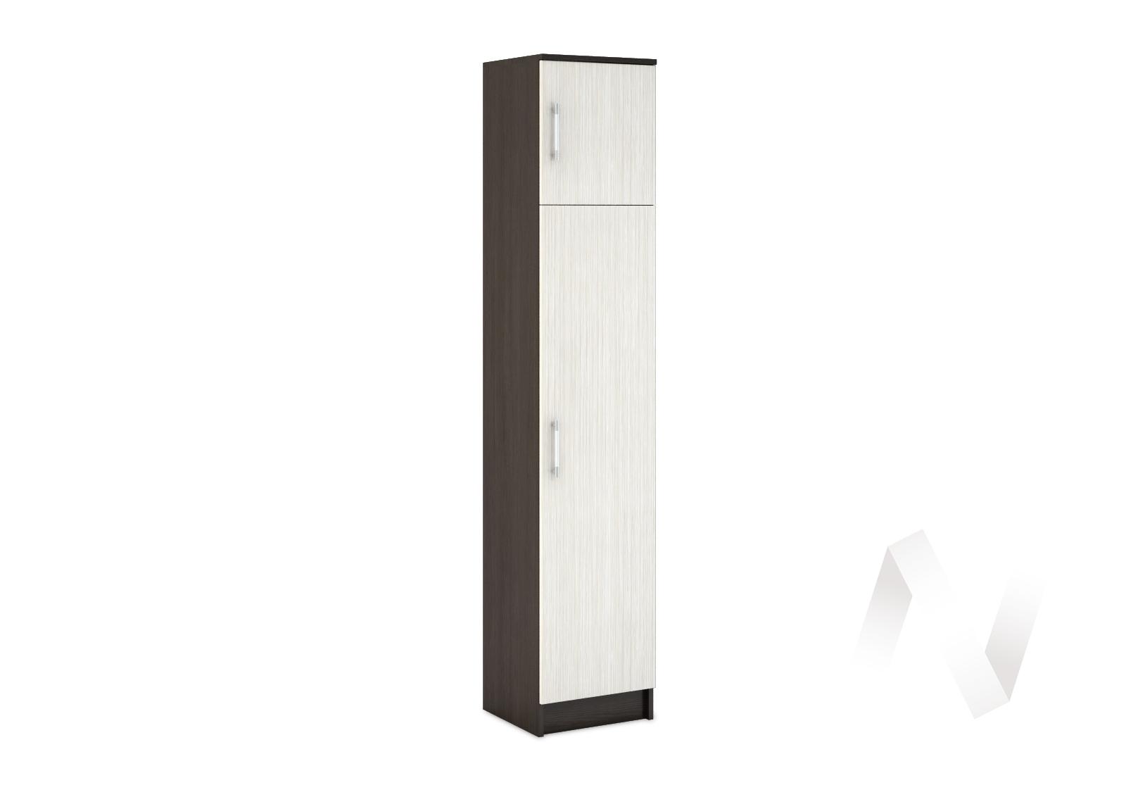 Шкаф одностворчатый бельевой Машенька (венге/дуб беленый) ШК-101