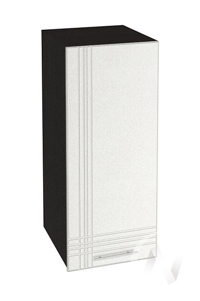 """Кухня """"Струна"""": Шкаф верхний 300, ШВ 300 (белый металлик/корпус венге)"""