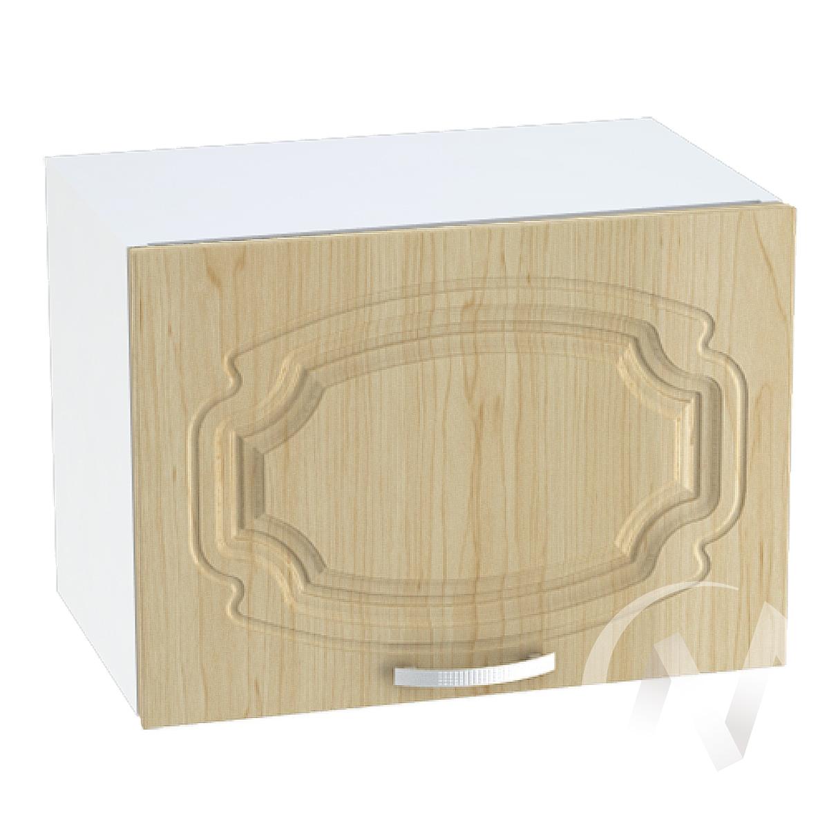 """Кухня """"Настя"""": Шкаф верхний горизонтальный 500, ШВГ 500 (Береза/корпус белый)"""