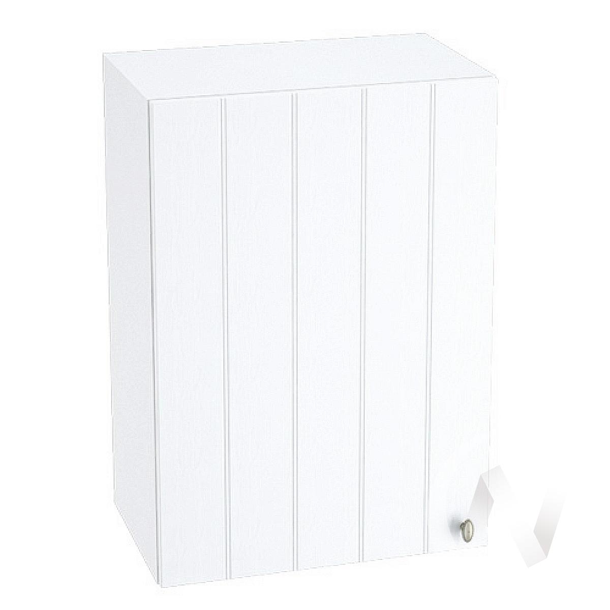 """Кухня """"Прованс"""": Шкаф верхний 500, ШВ 500 (белое дерево/корпус белый) в Томске — авторская мебель Экостиль"""
