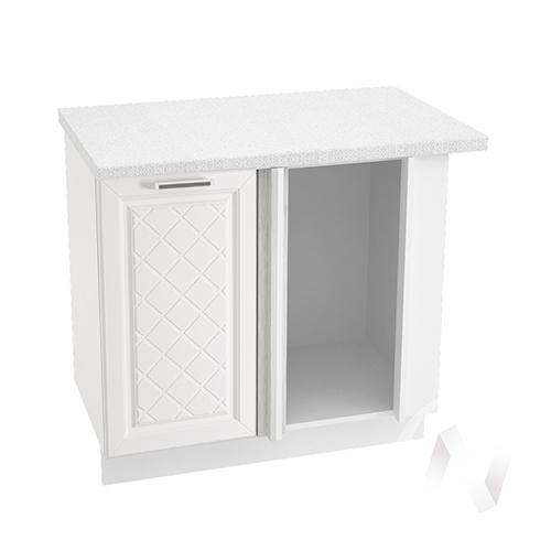 "Кухня ""Вена"": Шкаф нижний угловой 990, ШНУ 990 (корпус белый)"
