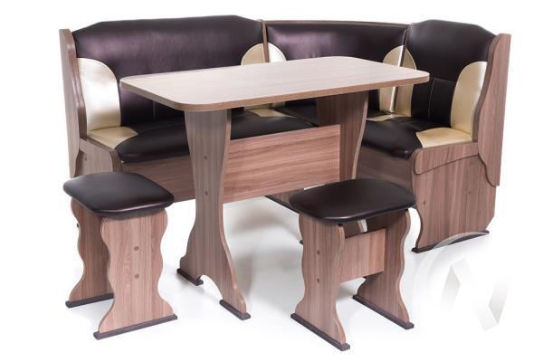 """Набор мебели для кухни """"Орхидея"""" шимо ясень темный С-221/С-101"""