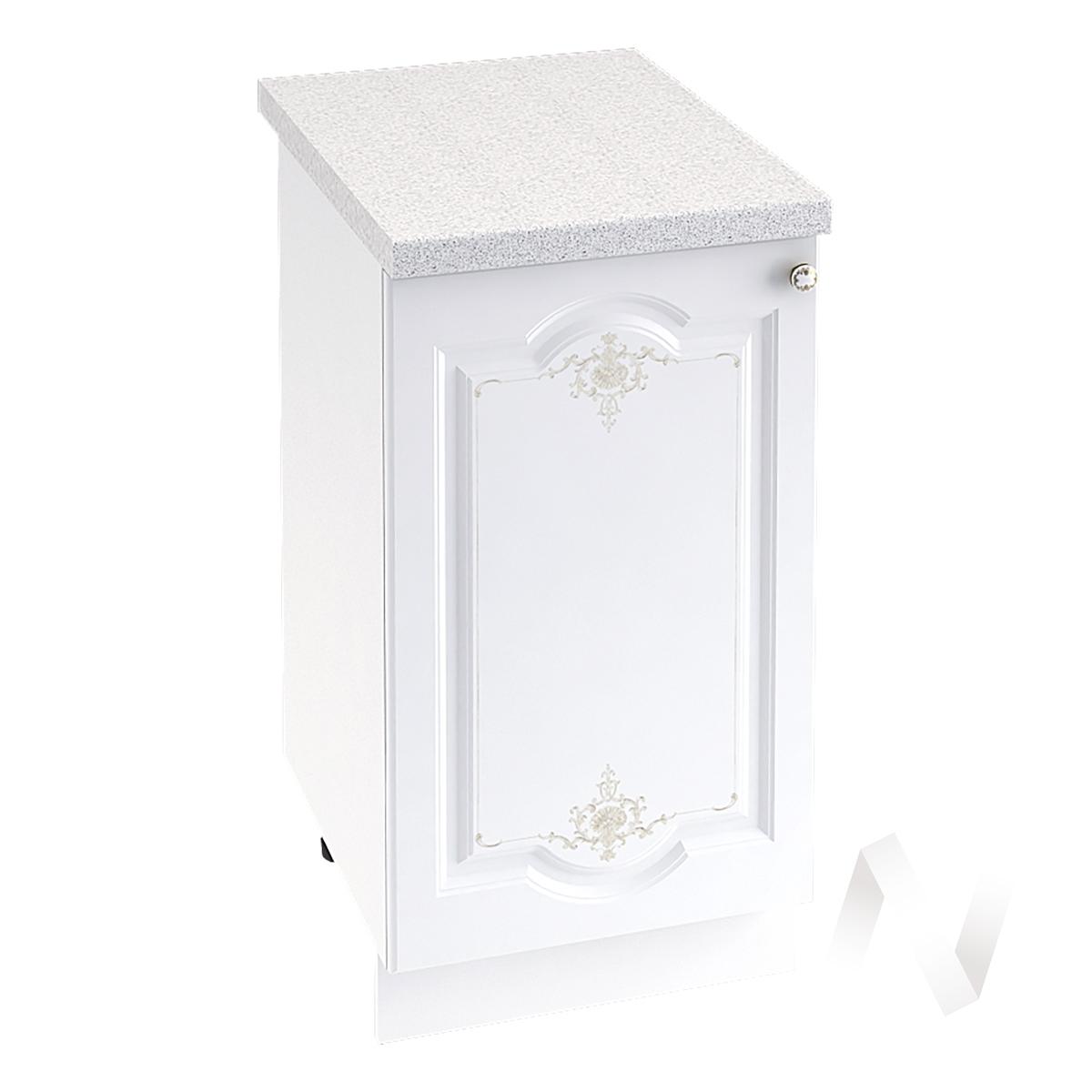 "Кухня ""Шарлиз"": Шкаф нижний 450, ШН 450 (корпус белый)"