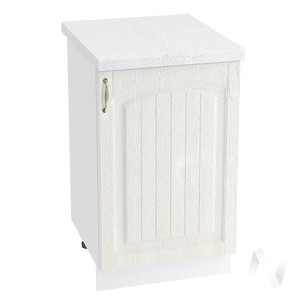"""Кухня """"Верона"""": Шкаф нижний 500 правый, ШН 500 (ясень золотистый/корпус белый)"""