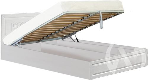 Аэлита Кровать №1 1,4 с подъемным механизмом (бодега/рельеф пастель)