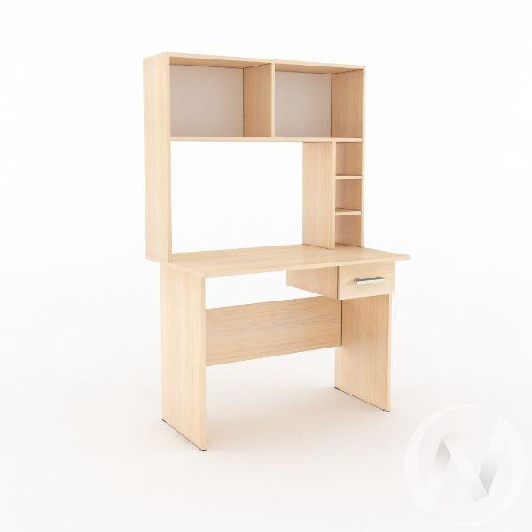 Компьютерный стол КС 1 (дуб молочный)