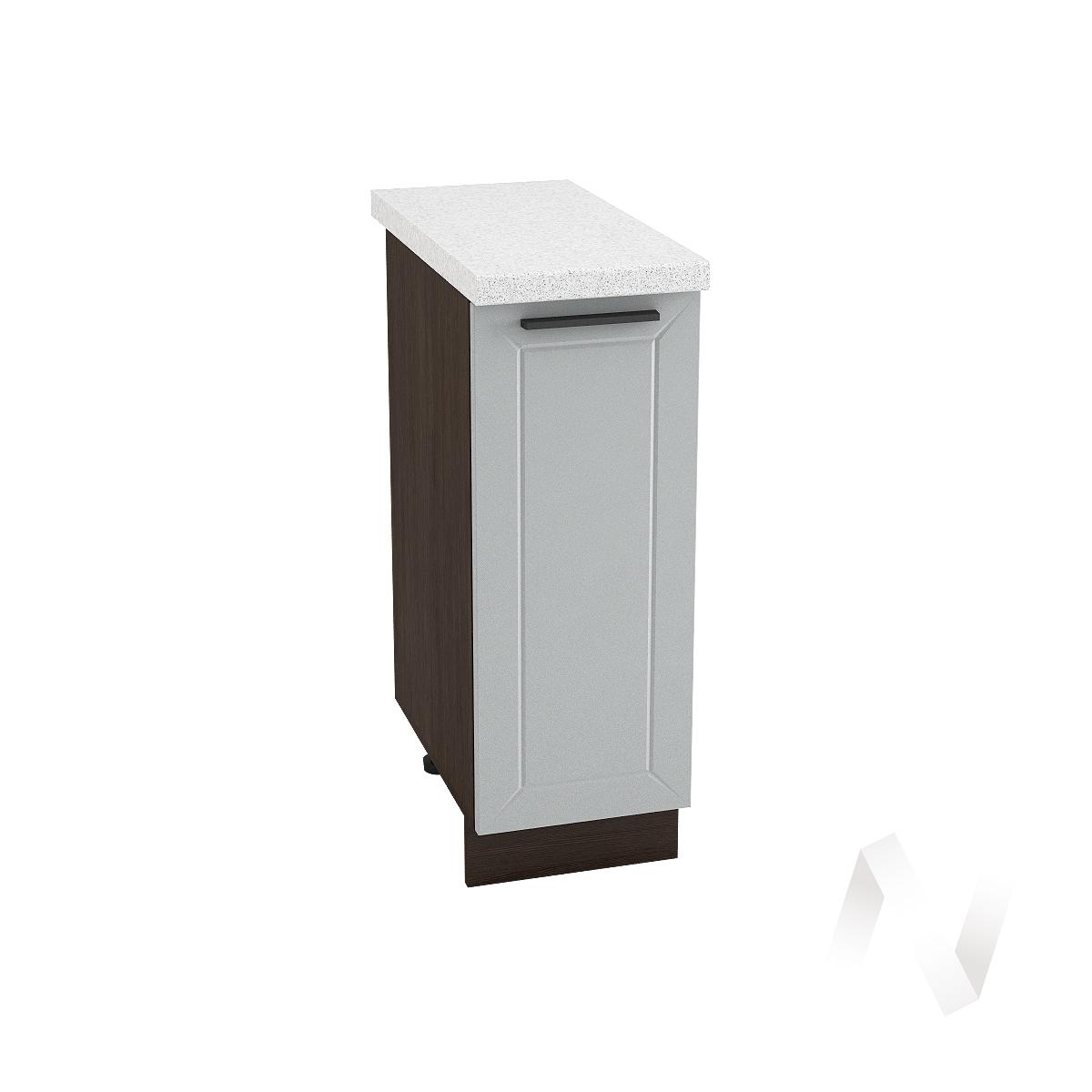 "Кухня ""Глетчер"": Шкаф нижний 300, ШН 300 (Гейнсборо силк/корпус венге)"