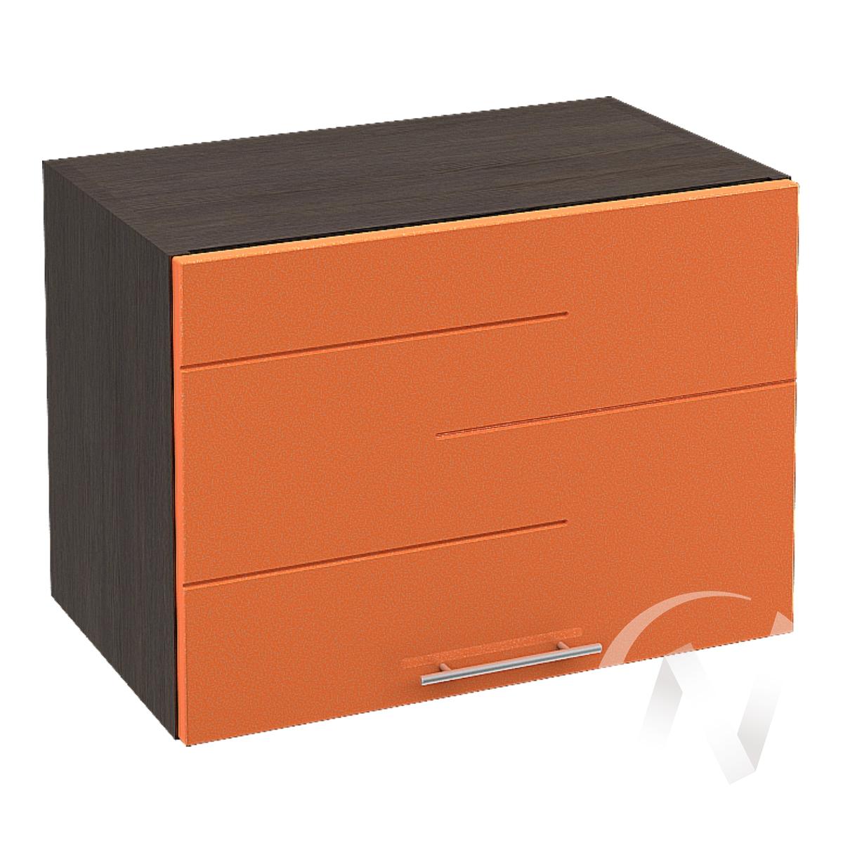"""Кухня """"Техно"""": Шкаф верхний горизонтальный 500, ШВГ 500 (корпус венге)"""