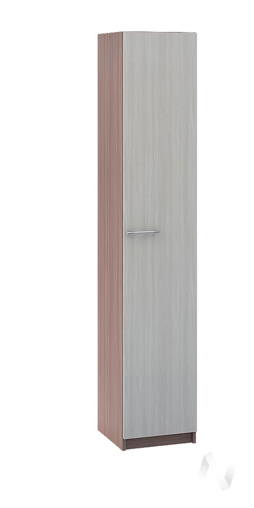 """Шкаф одностворчатый 446 мм """"Марта 11"""" ЛДСП (ясень шимо темн/ясень шимо свет) ШК-111"""