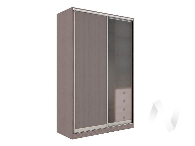 Шкаф-купе «Рене» 2-х дверный стекло матовое (ясень шимо темный/ясень шимо темный)  в Томске — интернет магазин МИРА-мебель