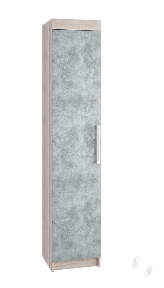 Пенал Лофт ясень шимо светлый/бетон серый  в Томске — интернет магазин МИРА-мебель