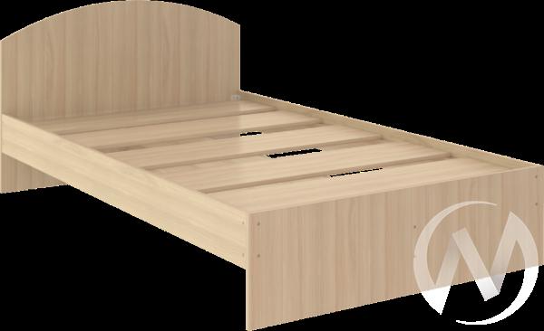 Кровать Веста 1,2х2,0 (шимо светлый)