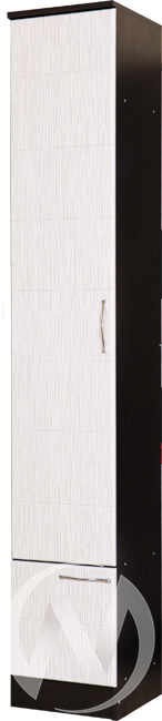 Пенал Прихожая София (венге-белый дым)  в Томске — интернет магазин МИРА-мебель